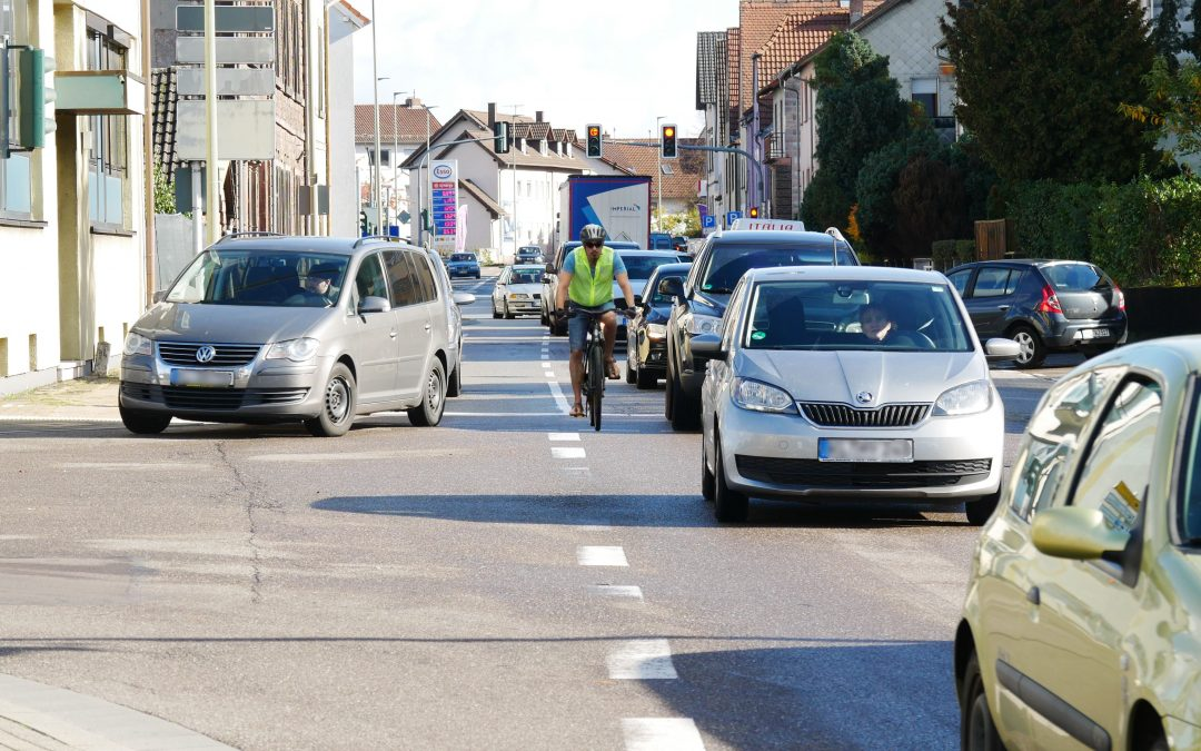 Kein zusätzlicher Schutz für Fahrradfahrer in Landstuhl
