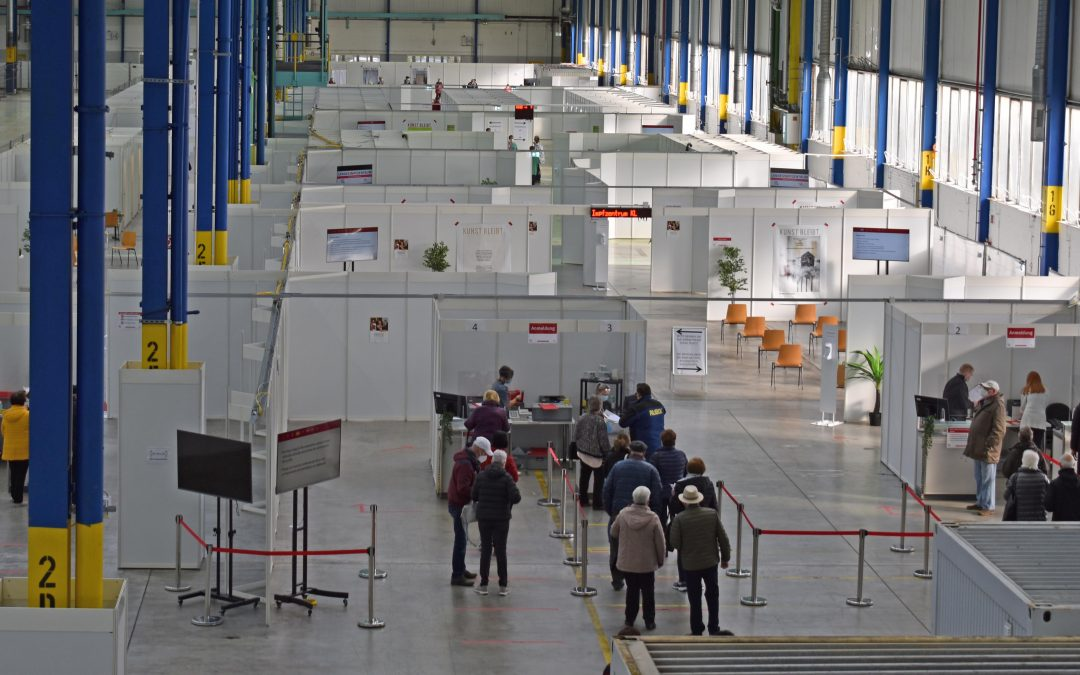 Sonderimpfaktionen im Impfzentrum Kaiserslautern