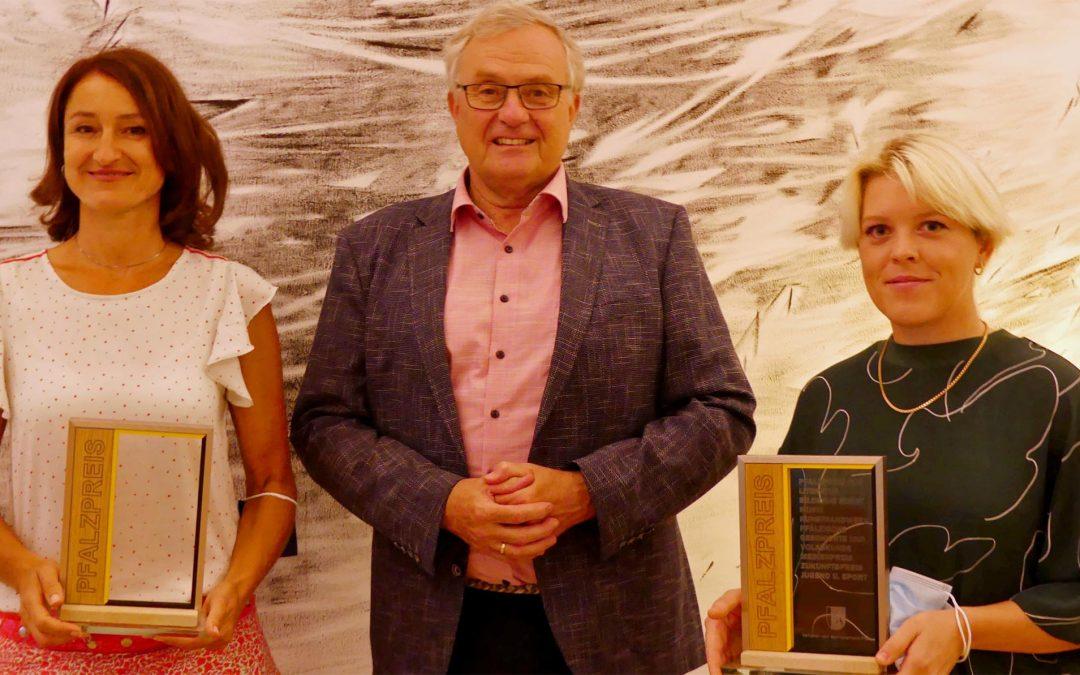 Fritzi Haußmann und Theresa Lawrenz erhalten Pfalzpreise